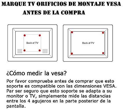 BPS- Soporte para TV Pared Inclinable para Televisor 32-55 Pulgadas de Pantalla Plana(LED LCD Plasma), Vesa 400x400: Amazon.es: Electrónica