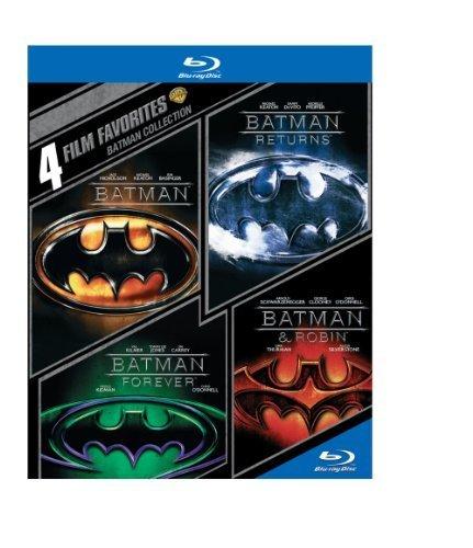 4 Film Favorites: Batman Collection (Batman / Batman Returns / Batman Forever / Batman & Robin) [Blu-ray] by Warner Home Video