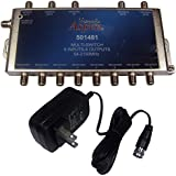 KVH 5 x 8 Active Multiswitch w/Power Supply