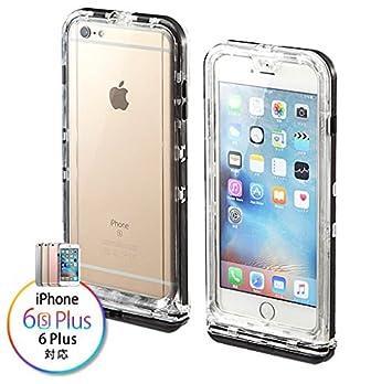 9d4821b814 サンワダイレクト iPhone 6s Plus/6 Plus 防水ハードケース 防塵 耐衝撃 IP68取得