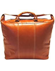 Floto Luggage Italian Piana Tote, Orange, Large