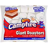 (4 Pack) Campfire Giant Roasters Premium Quality Marshmallows Great for Giant S'mores, 24 oz