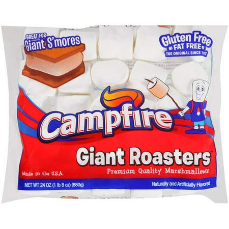 (8 Pack) Campfire Giant Roasters Premium Quality Marshmallows Great for Giant S'mores, 24 oz by Campfire