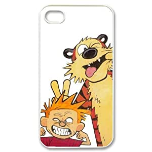 Popular Calvin And Hobbes New Style Durable Iphone 4,4s Case Hard iPhone Cover Case