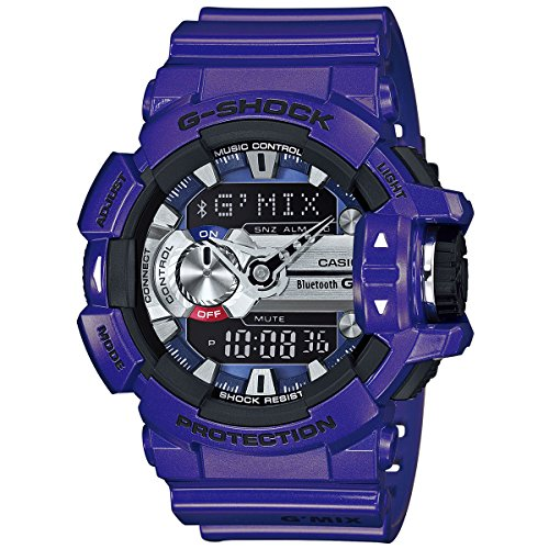G Shock GBA400 2A Classic Watch Purple