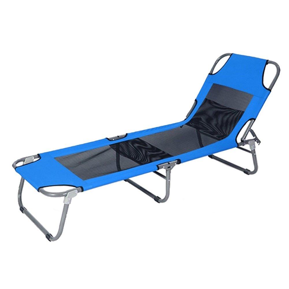 Liegestuhl Klappbett Büro Siesta Bett Recliners Einfache Outdoor Leichte Portable Beach Bett