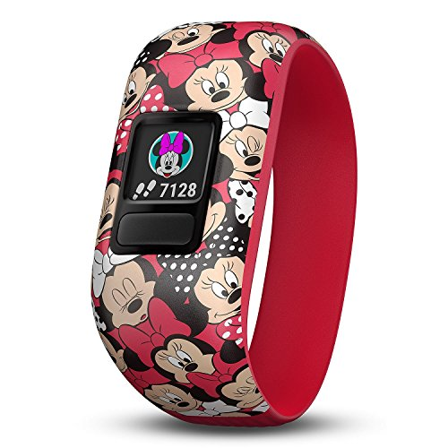 Garmin Vivofit Jr. 2 with Stretchy Band Bundle (Minnie Mouse Club Bundle Club) by Garmin