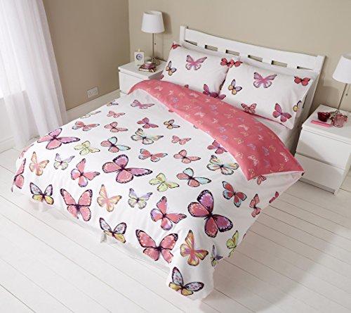 Schmetterlinge (Pink) Schmetterling Single Double King Bettwäsche Set Bettwäsche, gesteppt Schlafzimmer, King Size