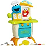 Playskool Sesame Street Come 'N Play Cookie Monster Kitchen Café Playset