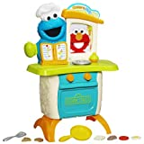 sesame street elmo slide - Playskool Sesame Street Come 'N Play Cookie Monster Kitchen Café Playset
