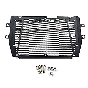 Color : Black RONGLINGXING For Yamaha MT-25 MT-03 MT03 MT 03 FZ 03 FZ-03 2016 2017 2018 Naked bike Radiator Grille Grill Guard Cover Protection Black