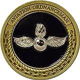 Navy Aviation Ordnanceman Challenge Coin