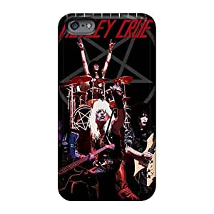 High Quality Hard Phone Cases For Apple Iphone 6s (lRc4629wILo) Allow Personal Design High Resolution Motley Crue Band Series