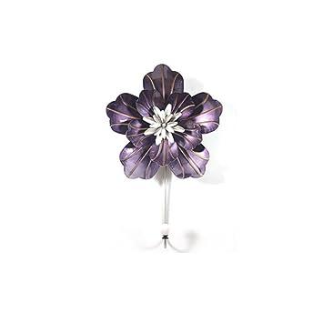 Mediterrane Eisen Blume Dekoration Haken Kreative Eingang Key Coat