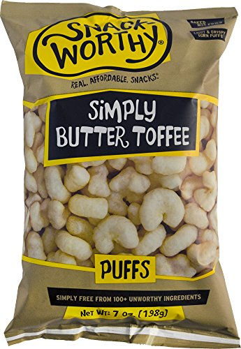 uffs, Butter Toffee, 7 Ounce (Pack of 12) (Butter Toffee Coating)