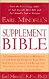 Earl Mindell's Supplement Bible, Earl Mindell, 0743226615