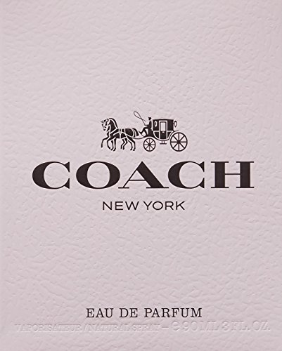 Coach New York The Fragrance Eau de Parfum Spray, 3 Fl Oz
