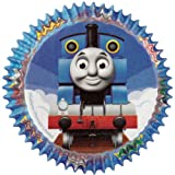 Product review for Wilton Baking Cups, Standard, Thomas The Train, 50-Pack
