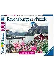 Ravensburger puzzel Reine, Lofoten, Noorwegen - legpuzzel - 1000 stukjes