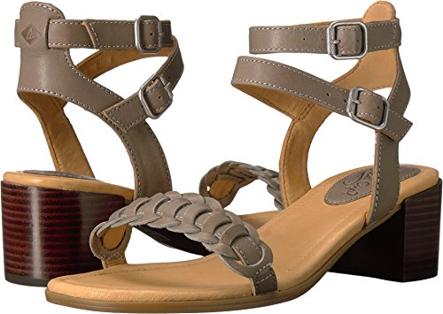 Sperry Top-Sider Gold Cup Vivianne Sandal Women 7.5 Grey