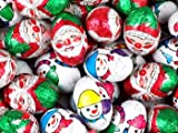 Assorted Foiled Christmas Chocolate Mix 600 balls (3Kg)