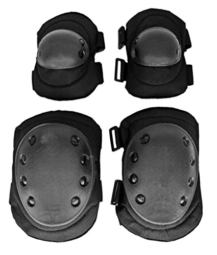 Advanced Elbow and Knee Pads - Black