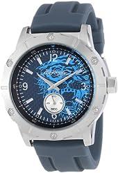 Ed Hardy Men's MX-BL Matrix Blue Watch