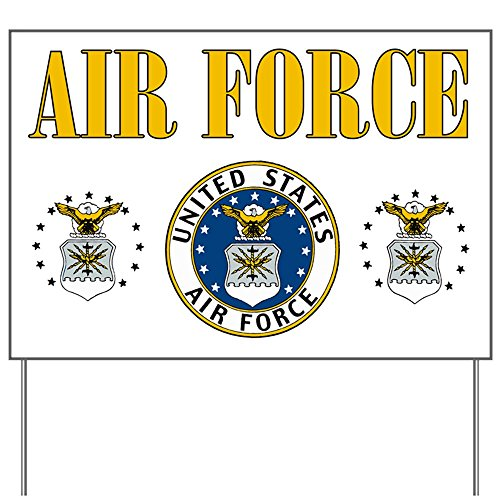 Yard Sign United States Air Force Military Seal
