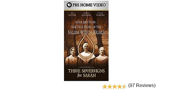 Amazon.com: Three Sovereigns for Sarah - A True Story Of The Salem ...
