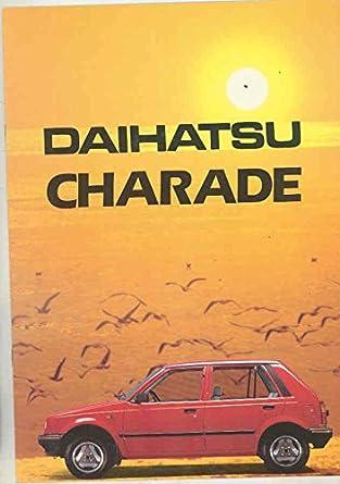 Amazon.com: 1984 Daihatsu Charade & Turbo Brochure Sweden: Entertainment Collectibles