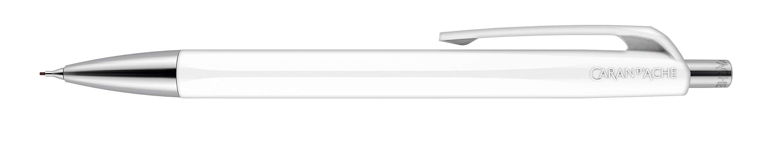 CARAN DACHE 888 Infinito Lápiz Mecánico - Blanco