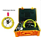 underwater inspection camera hd security camera system with 20m pushrod cable