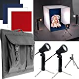 Trademark Deluxe Table Top Photo Studio Photo Light Box