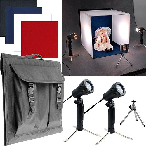 Trademark Deluxe Table Top Photo Studio Photo Light Box by Trademark