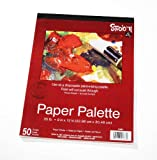 Darice 97490-1 Paper Palette 9-Inch-by-12-Inch, 50-Sheets