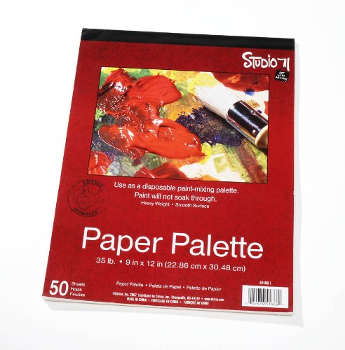 Darice 9 Inch by 12 Inch Paper Palette 50 Sheets
