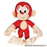 Lot Of 12 Big Foot Soft Plush Stuffed Monkeys – 17″