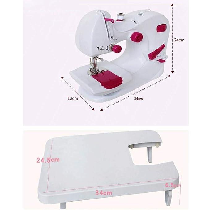 Máquina de Coser Máquina de Coser eléctrica multifunción de Costura de Escritorio: Amazon.es: Hogar