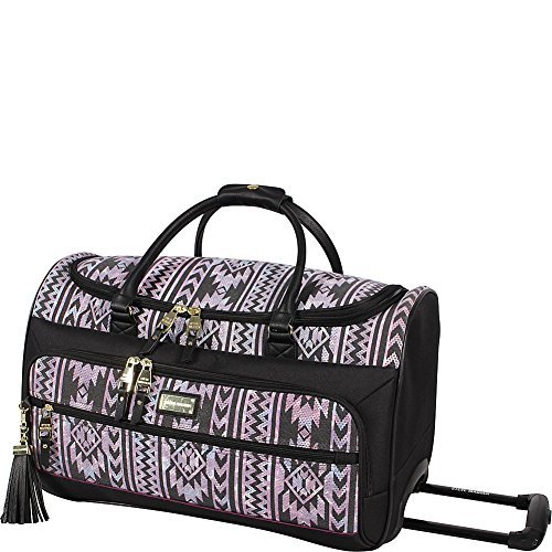 Steve Madden Luggage Wild Child 20'' Wheeled Satchel (Black)