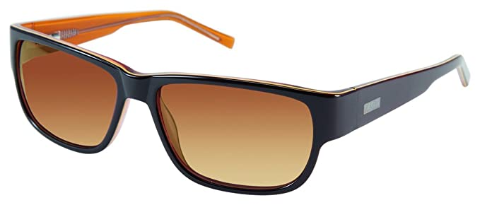 e729586c6f Amazon.com  Izod 764 Sunglasses - Brown Laminate  Clothing