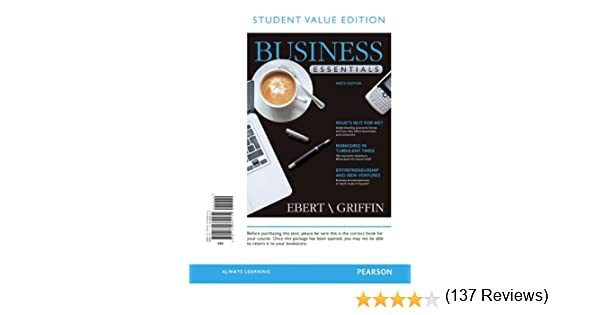 Student value edition for business essentials 9th edition student value edition for business essentials 9th edition 9780132664134 economics books amazon fandeluxe Image collections