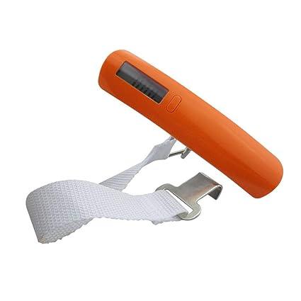 Melodycp Escala portátil de Equipaje Colgante Color Aleatorio Pantalla LED Capacidad Digital 110 LB / 50