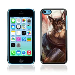 Designer Depo Hard Protection Case for Samsung Galaxy Note 3 N9000 / Dog Knight German Shepard