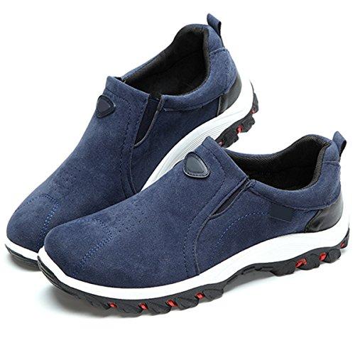 Schuhe Freizeitschuhe Beachten Bild Bequem Sneaker im Herren Hersteller Gracosy Fitness Damen Größentabelle Blau Leicht Wanderschuhe Veloursleder Sportschuhe Unisex Outdoor Schuhe Trekking HYwUUqI