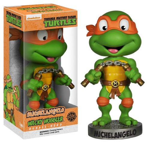 Funko-Action-Figure-Teenage-Mutant-Ninja-Turtles-Michelangelo-Wacky-Wobbler