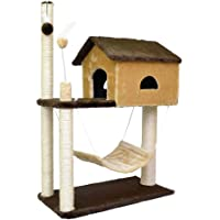 Arranhador Housey, São Pet, Marrom e Bege
