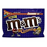 M&M's Caramel Chocolate Candy 9.6 oz Sharing Size. Pack of two