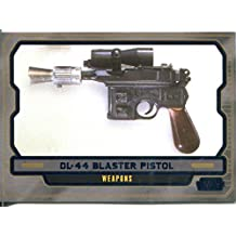 Star Wars Galactic Files 2 Blue Parallel Base Card #630 DL-44 Blaster Pistol