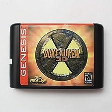 16 Bit Sega MD Game - Duke Nukem 3D 16 Bit MD Game Card For Sega Mega Drive For Genesis - Sega Genniess , Sega Ninento , Sega Mega Drive