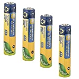 Polaroid IF045 Digital Camera Battery 4 AAA NiMH Rechargable Batteries - 1000mAh - by Synergy Digital